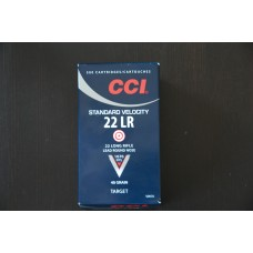 CCI Standard Velocity 22 LR Target 40 gr.