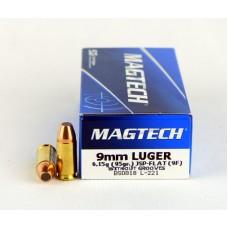 Magtech 9X19  6,15 g (95 gr.) JSP - FLAT (9F)
