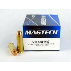 Magtech .500  S&W MAG   21,06 g (325 gr.)  FMJ - FLAT