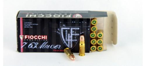 FIOCCHI  7,63 Mauser  88 gr. FMJ