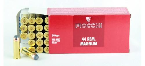 FIOCCHI  .44 REM. MAGNUM SJSP  240 gr.