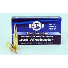 PPU  .308  Winchester  HP  BT  10,9 g/168 gr.