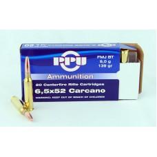 PPU   6,5 X 52  Carcano    FMJ  BT  9,0 g/139 gr.