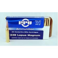 PPU  .338  Lapua Magnum  FMJ  BT  16,2 g/250 gr.