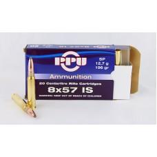 PPU  8 X 57  IS  SP  12,7 g/196 gr.