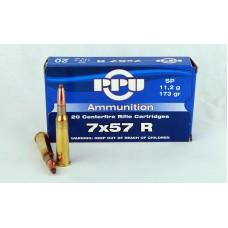 PPU  7 X 57 R  SP  11,2 g/173 gr.