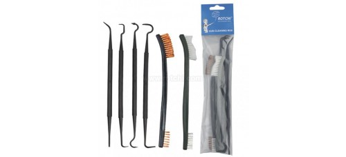 Gun Cleaning Hooks And Brushes 6572